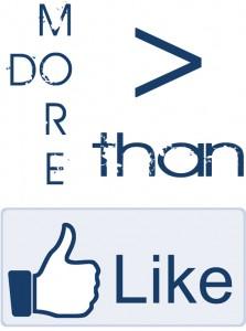 Do more than like